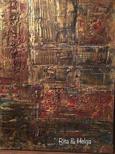 30x40 cm original structured acrylic abstract painting  Rita & Helga wall decor #original #structured #abstract #painting # modern #walldecor #gold #acryl Wall Decor, Paintings, The Originals, Abstract, Drawings, Modern, Gold, Watercolor, Wall Hanging Decor
