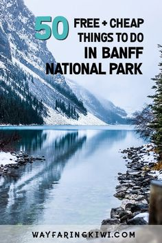 Are you planning a trip to Banff Canada? Luckily for anyone visiting, there are plenty of cheap or free things to do in Banff National Park. Don't forget to save this to your travel board so you can find it later! Alberta Canada, Banff Canada, Calgary, Canada Vancouver, Canadian Travel, Canadian Rockies, Canada Destinations, Visit Canada, Banff National Park