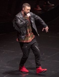 (Rick Egan | The Salt Lake Tribune) Justin Timberlake performs at Vivint Smarthome Arena in Salt Lake City, Thursday, April 12, 2018.