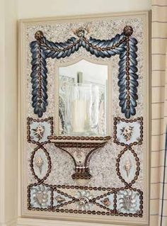 Decorating with shells by Linda Fenwick - Period Living Seashell Painting, Seashell Art, Beautiful Interior Design, Interior Design Inspiration, Nautical Furniture, Shell House, Shell Decorations, Period Living, Shell Frame
