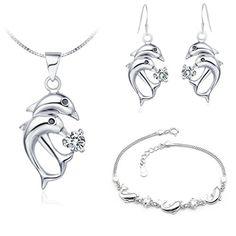 Virgin Shine Platinum Plated Rhinestones Dolphin Jewelry Sets VIRGIN SHINE http://www.amazon.com/dp/B00L0IH630/ref=cm_sw_r_pi_dp_rTNrub0KAW62Y