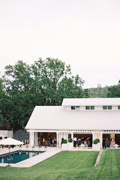 Durham Ranch. This 4,000 square-foot barn serves as the centerpiece of a sprawling Wine Country ranch—with 33 foot ceilings and glass roll-up doors in the heart of Napa, Valley, it's certainly one of the more modern barns on this list.