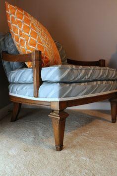 Vintage Chair reupholstered barrymore furniture