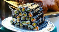 Kimbap, Cake, Desserts, Food, Tailgate Desserts, Deserts, Kuchen, Essen, Postres