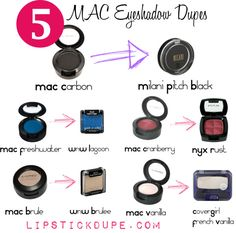 Eye shadow dupes ideas 55 ideas for 2019 Mac Satin Taupe, Mac Eyeshadow Dupes, Nyx Dupes, Eyeshadow Basics, Lipstick Mac, Eyeshadow Ideas, Ruby Woo, Natural Eye Makeup, Blue Eye Makeup