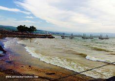 The Sea of Galilee, Israel www.artsncraftsisrael.com