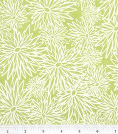 Faith Rocks Tonal Floral Green @ Joann.com