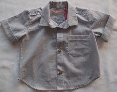 Camisa Infantil Listras $70.00