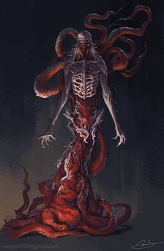 (SNB) Unspeakable Thing by JaeHyeon-Lee on ArtStation Monster Concept Art, Monster Art, Creepy Monster, Cool Monsters, Horror Monsters, Dark Creatures, Fantasy Creatures, Creature Concept Art, Creature Design