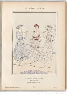 1915 dresses for young ladies