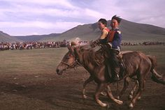 "Mongolia's Naadam Festival celebrating the ""The Manly Sports"" of wrestling, horse riding, and archery"