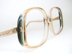 Vintage 80s Oversized Sunglasses or by Vintage50sEyewear on Etsy, $58.00