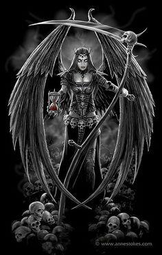 Dark Angel version 2 by *Ironshod on deviantART - Anne Stokes