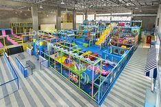 Liben Indoor Trampoline Park and Soft Play Center Project in Malaysia-1