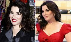 Nigella in the nude: Domestic Goddess sparks rush on her latest barely there lipstick shade as sales soar 62%