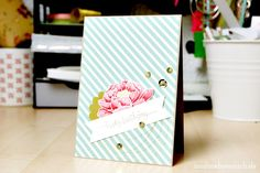 Birthday Card with Stampin' Up! | nadinehoessrich.de
