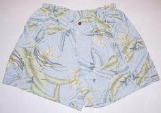 Tommy Bahama Tropical Hawaiian Mesh Lined Swimsuit Swim Trunks Shorts Mens XL #TommyBahama #Trunks