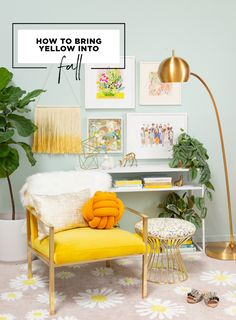 How to bring yellow