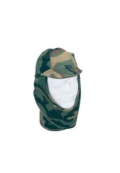 GI Style Woodland Camo Cold Weather Helmet Liner