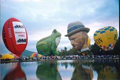 Special Shape Hot Air Balloons | Van Gogh Hot Air Balloon – Spirits Dancing