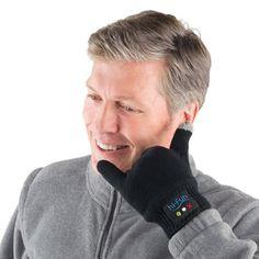 The Call Me Gloves (Men's) - Hammacher Schlemmer