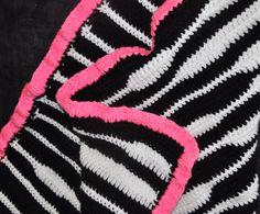 For Quinn: My version of this: http://www.allfreecrochet.com/Baby-Afghan-Crochet-Patterns/Cuddly-Zebra-Blanket
