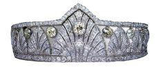Colored Diamond Tiara