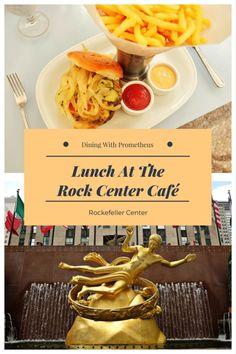Lunch With Prometheus At The Rock Center Café, Rockefeller Center