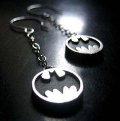 Earrings. Batman earrings. I need them now