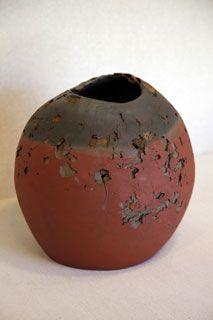 Vase by National Living Treasure of Japan, Sekisui ITO (1941~)