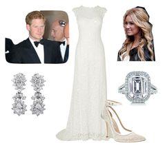 Flashback: Wedding Reception by royal-fashion on Polyvore featuring Phase Eight, Oscar de la Renta and Tiffany & Co.