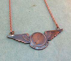 Jr. Pilot Charm Necklace >> Classic!