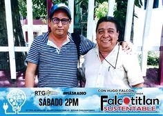 Falcotitlan SUSTENTABLE®  SINTONIZA HOY SÁBADO A LAS 2PM A TRAVÉS DE RADIO Y TELEVISIÓN DE GUERRERO (RTG) POR 97.7 FM ACAPULCO, 92.1 FM ZIHUATANEJO Y 870 AM CHILPANCINGO  #MásRadio  #FalcotitlanSUSTENTABLE  OTROS DISPOSITIVOS: http://rtvgro.net/radio/blog/category/acapulco/  INVITADO: ING. JOSÉ CONCEPCIÓN URIÓSTEGUI FERNÁNDEZ, PRESIDENTE DE LA SECCIÓN AGRONÓMICA ACAPULCO, A.C.  TEMA: REFORESTACIÓN SUSTENTABLE.