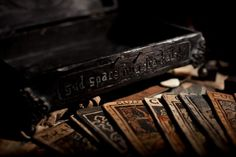 The Casket is covered in sigils and incantations whose sole aim is to keep the malevolence away from the collector.