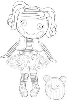 Lalaloopsy Dolls Coloring Pages