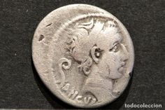 DENARIO REPUBLICANO ROMA MARCIUS PHILIPPUS