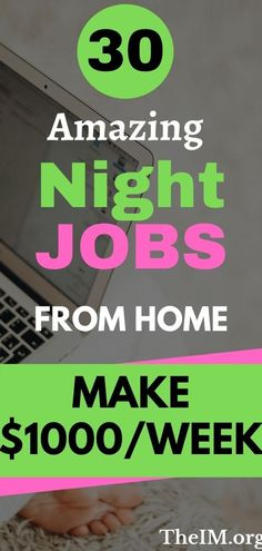 Do you like to work from home?Do you have free time during time and want to make decent money ?Well.I have perfect solution to make money from home.Follow this article to learn about 30 amazing night jobs to make money from home.