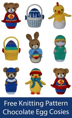 Knitting Dolls Free Patterns, Knitted Dolls Free, Christmas Knitting Patterns, Free Knitting, Knitting Ideas, Knitting Designs, Crochet Lovey Free Pattern, Teddy Bear Patterns Free, Beginner Knitting Projects