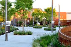 Boulevard Gateway by Studio Landscape Architecture … Martin Luther King Jr. Boulevard Gateway by Studio Architecture de paysage «Plateforme d'architecture de paysage Landscape Concept, Contemporary Landscape, Urban Landscape, Landscape Design, Garden Design, Studios Architecture, Garden Architecture, Martin Luther, Garden Structures