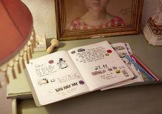 dot on #diary - Das #Tagebuch mit 180 Klebepunkten plus 8 Bögen themenspezifische #Illustrationen zum Einkleben und #kreativ sein   #klebepunkte #Illustrationen #Tagebuch #diy #doton #diary #madeingermany