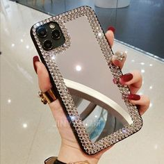 Bling Phone Cases, Pretty Iphone Cases, Glitter Phone Cases, Iphone Phone Cases, Iphone 11, Apple Iphone, Apple Products, Best Makeup Products, Mens Fashion Online