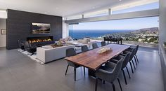 Magnificent views envelop the Ellis Residence in Laguna Beach