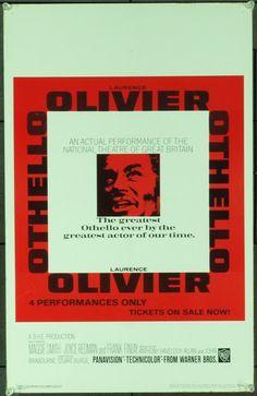 MovieArt Original Film Posters - OTHELLO (1965) 20488, $35.00 (http://www.movieart.com/othello-1965-20488/)