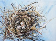 Nest painting. Gorgeous.