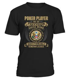 Best Poker Room Supervisor   We Do front T Shirt