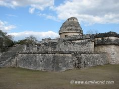 81-The Observatory at Chichen Itza
