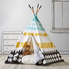Teepee to Call Your Own (Multi-Dot)