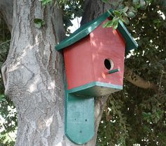 How to make a simple bird house.