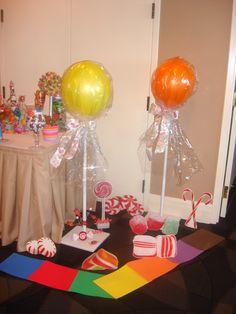 Lollipop Ballon Displays