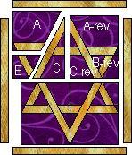 Star of David quilt block